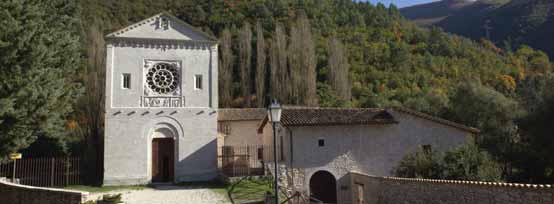 Sant'Anatolia di Narco, Abbazia dei santi Felice e Mauro