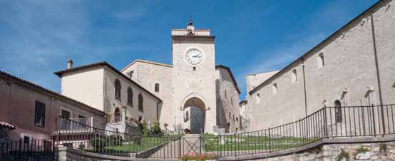 Monteleone di Spoleto, Torre dell'Orologio